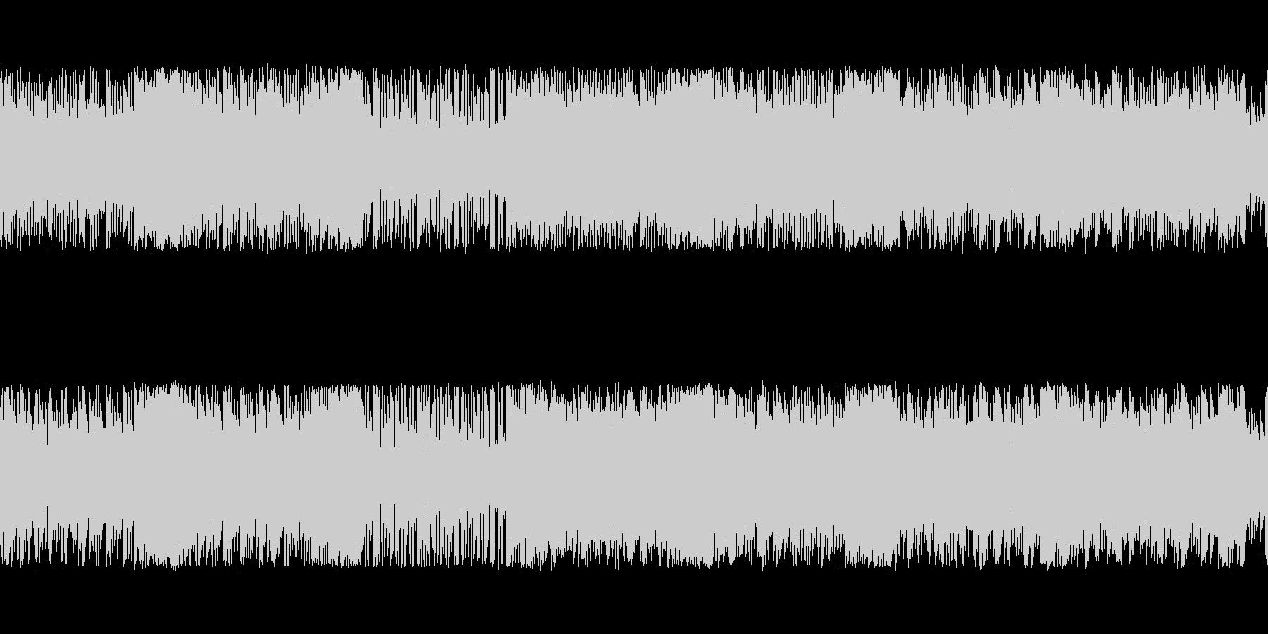 勢いのあるスタイリッシュチップチューンの未再生の波形
