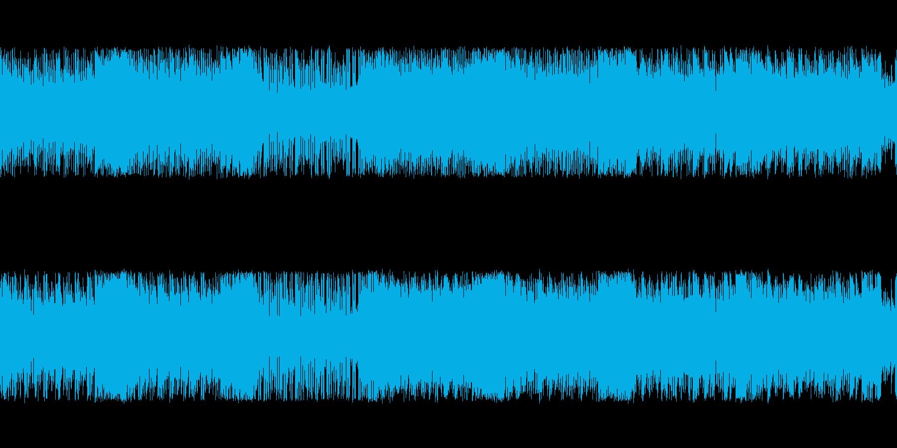 勢いのあるスタイリッシュチップチューンの再生済みの波形