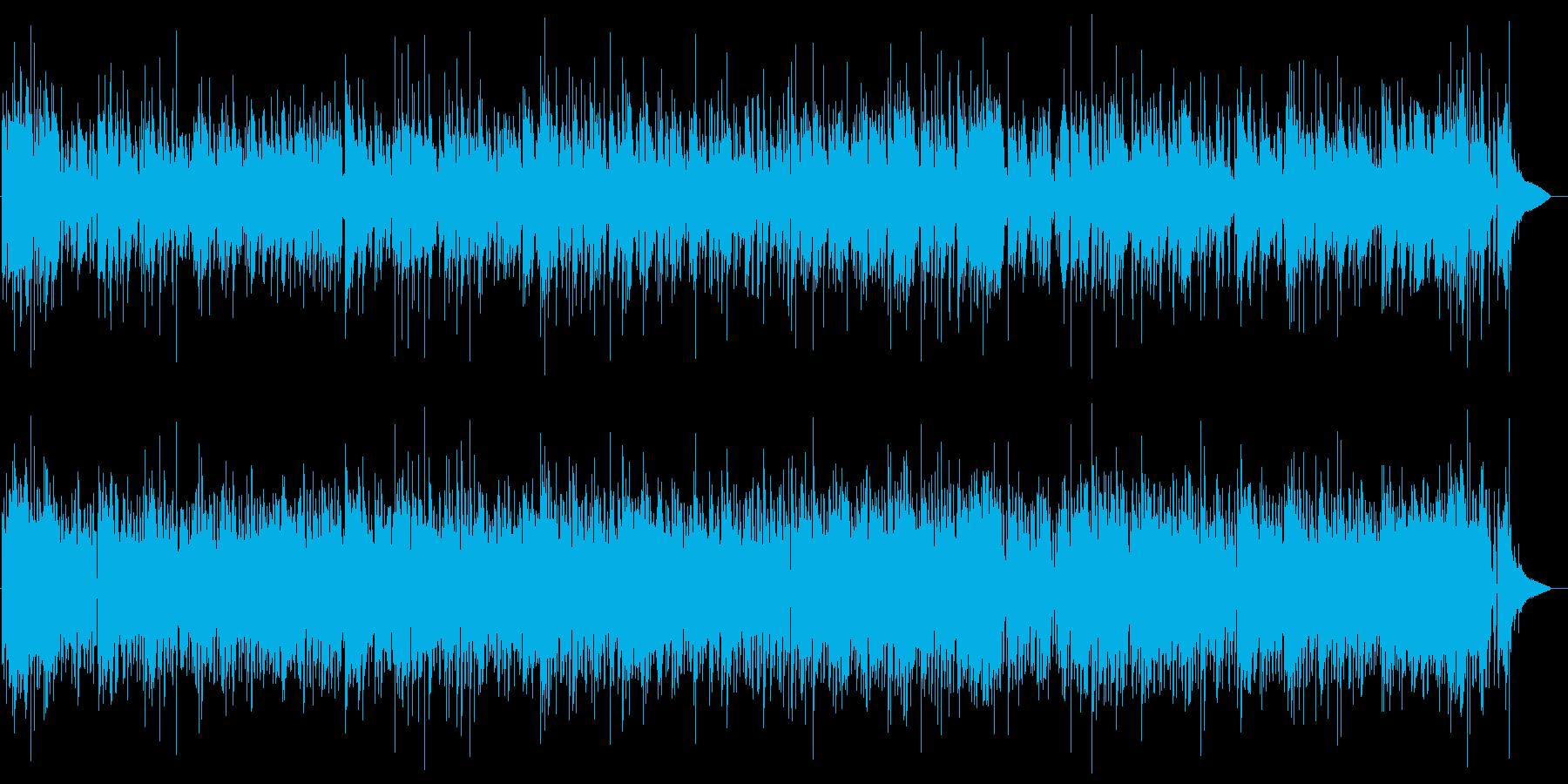 アルハンブラの想い出Jazzの再生済みの波形