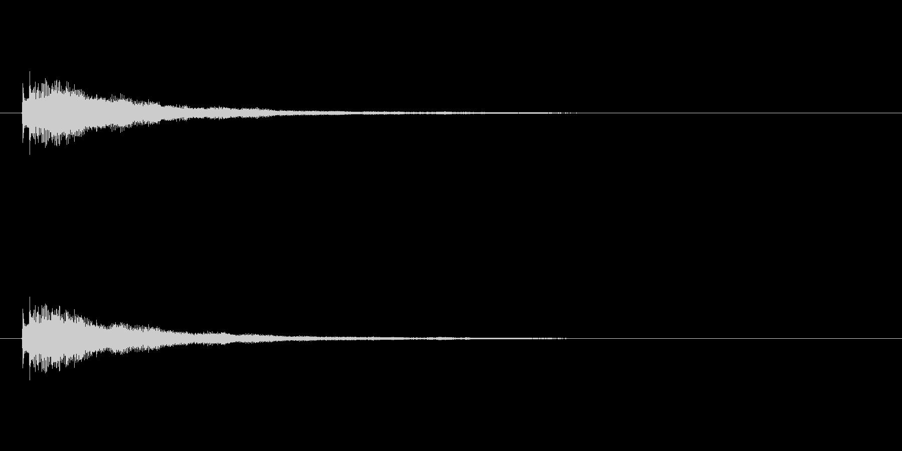 【ショートブリッジ15-2】の未再生の波形