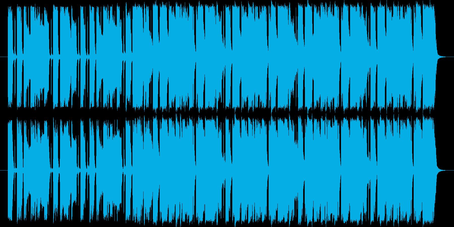 爽やかギターのポップロック。30秒版の再生済みの波形