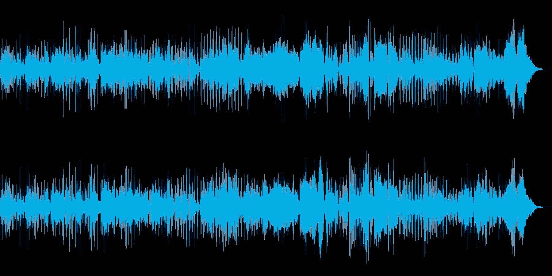 グリーンスリーブス合唱 ジャズ ゆったりの再生済みの波形