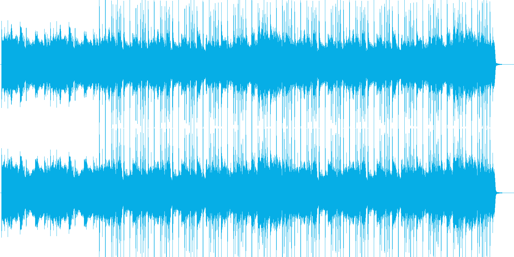 哀愁漂うロックの再生済みの波形
