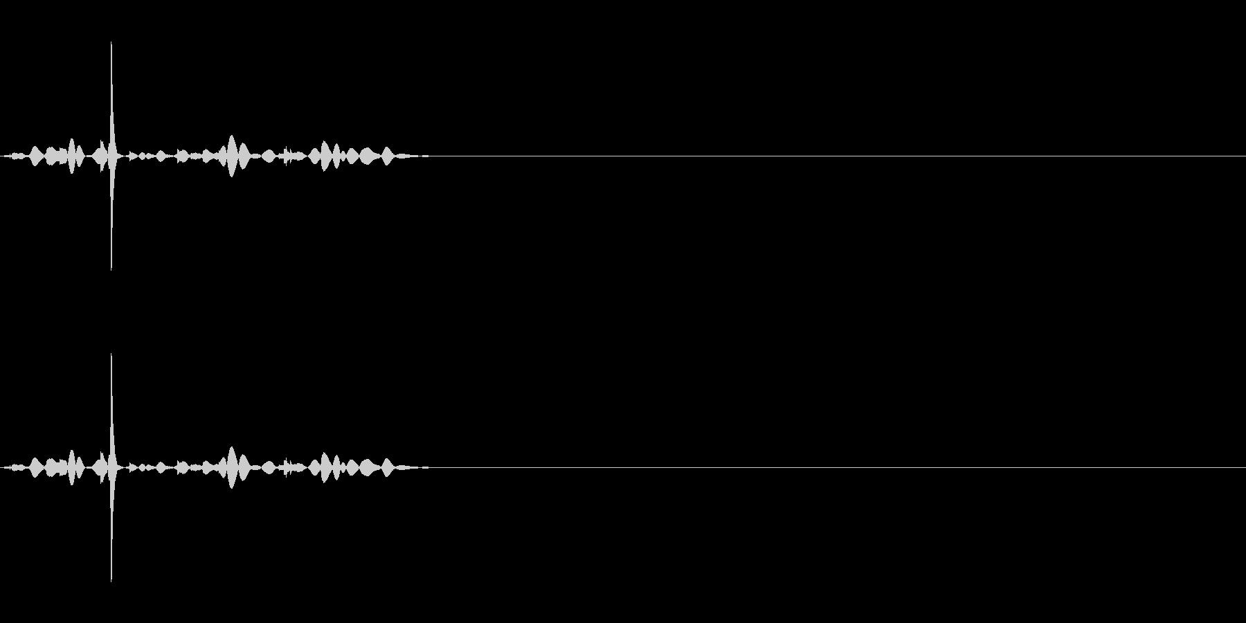 カランコロン10の未再生の波形