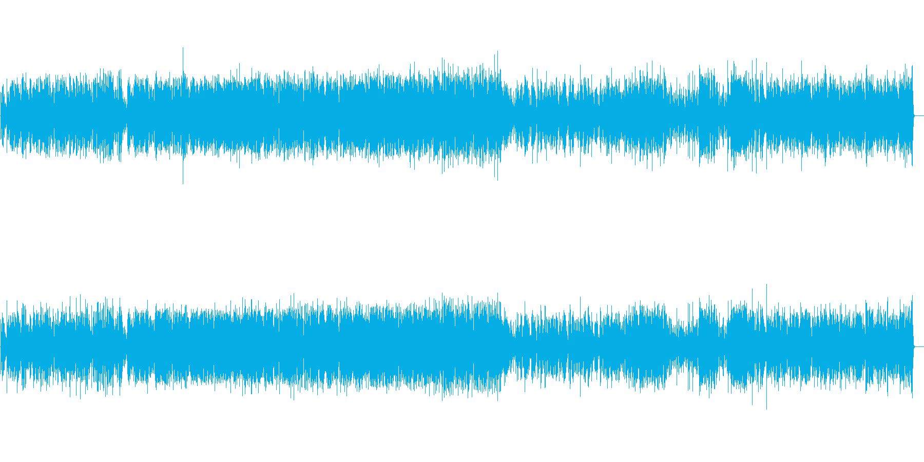 軽快なジャズピアノトリオ2の再生済みの波形