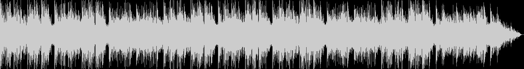 ピアノの旋律がきれいなバラードの未再生の波形