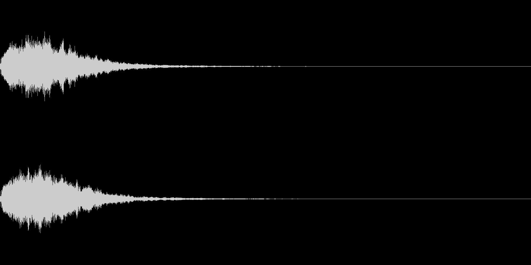 コインやアイテムなどの獲得音.02の未再生の波形