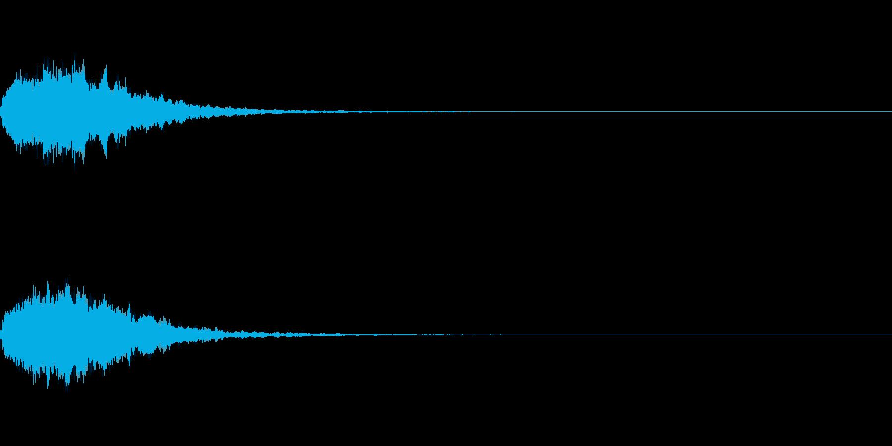 コインやアイテムなどの獲得音.02の再生済みの波形