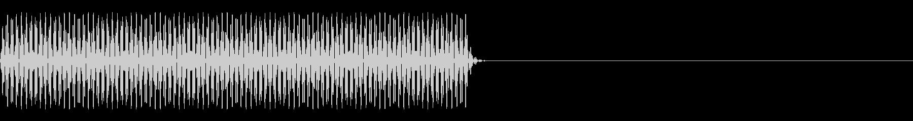 FX・SE/電話/ボタン音/海外風/#3の未再生の波形
