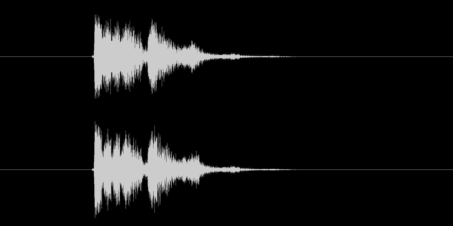 コミカルボイス音(妖精、アニメ)の未再生の波形