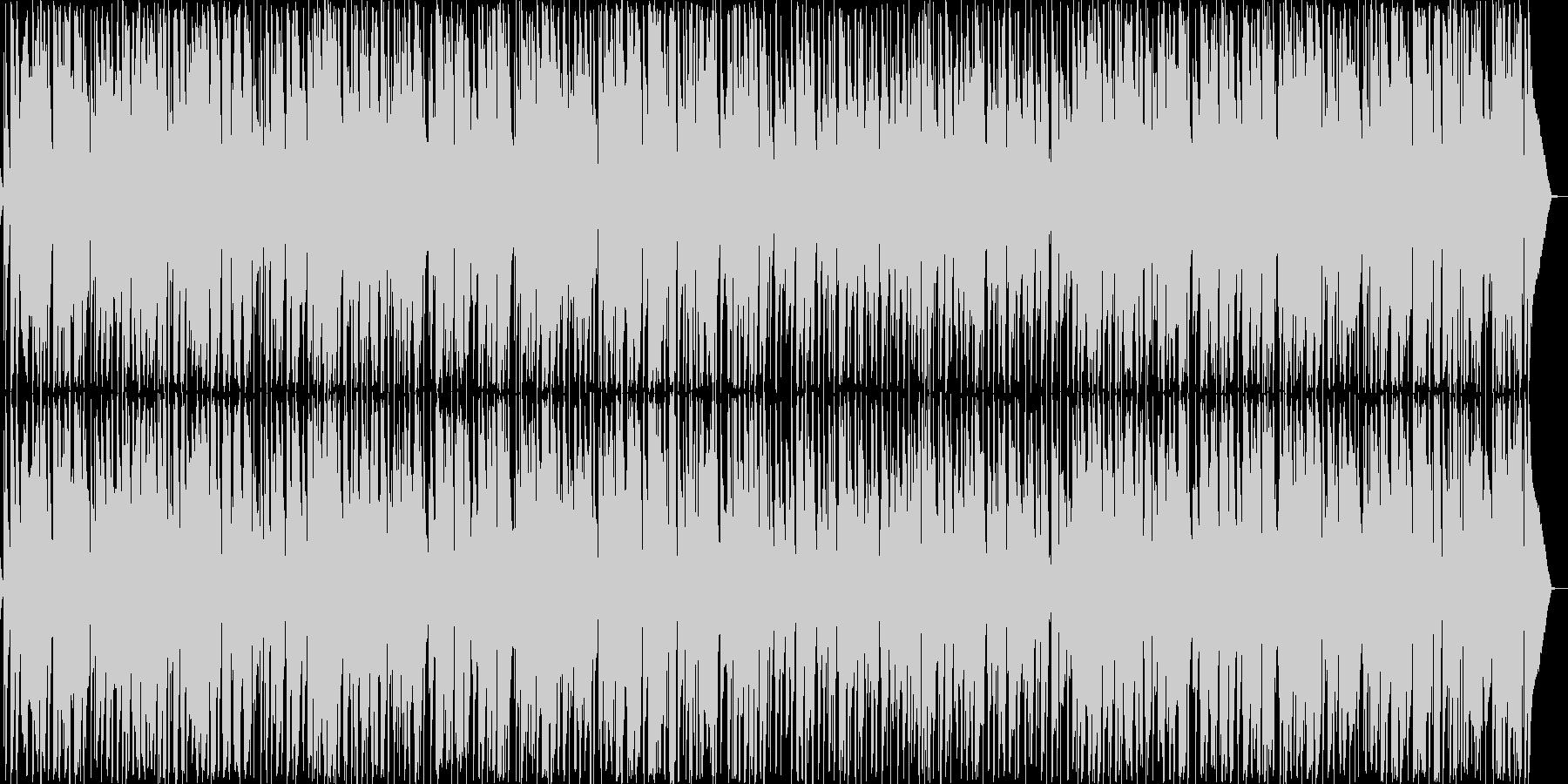ほのぼの女性ボーカル・ウクレレリコーダーの未再生の波形