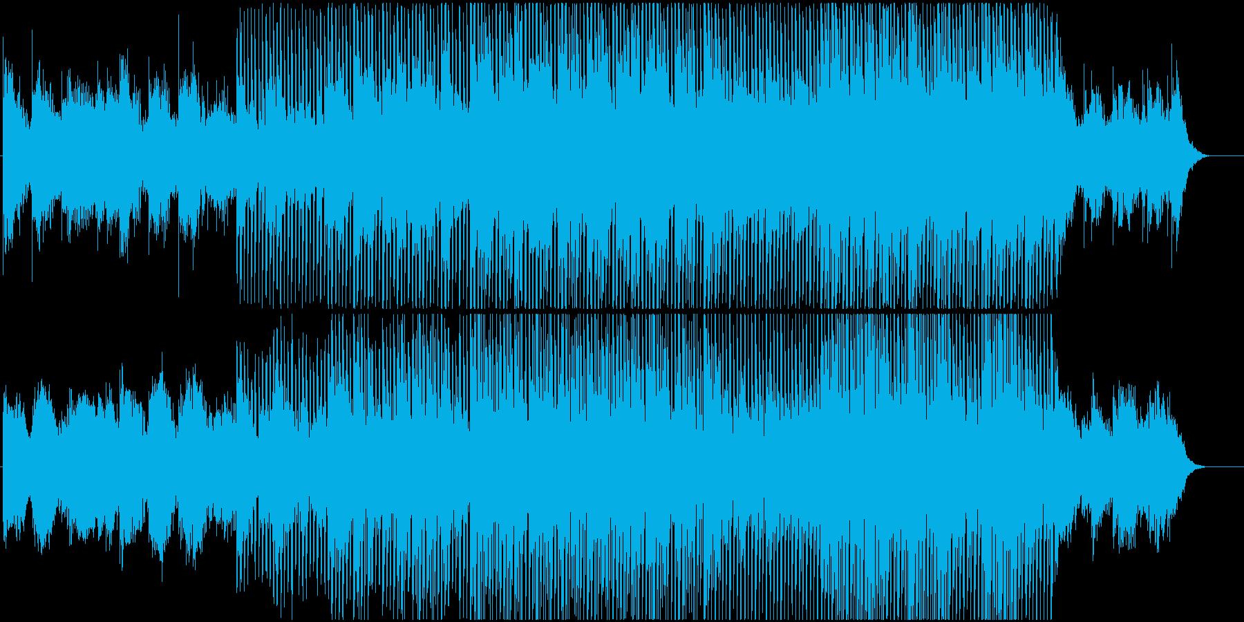 企業VPや映像に 感動ソフトポップロックの再生済みの波形