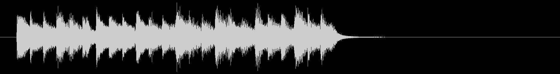 神秘的な森の中のようなBGM_ループ用2の未再生の波形