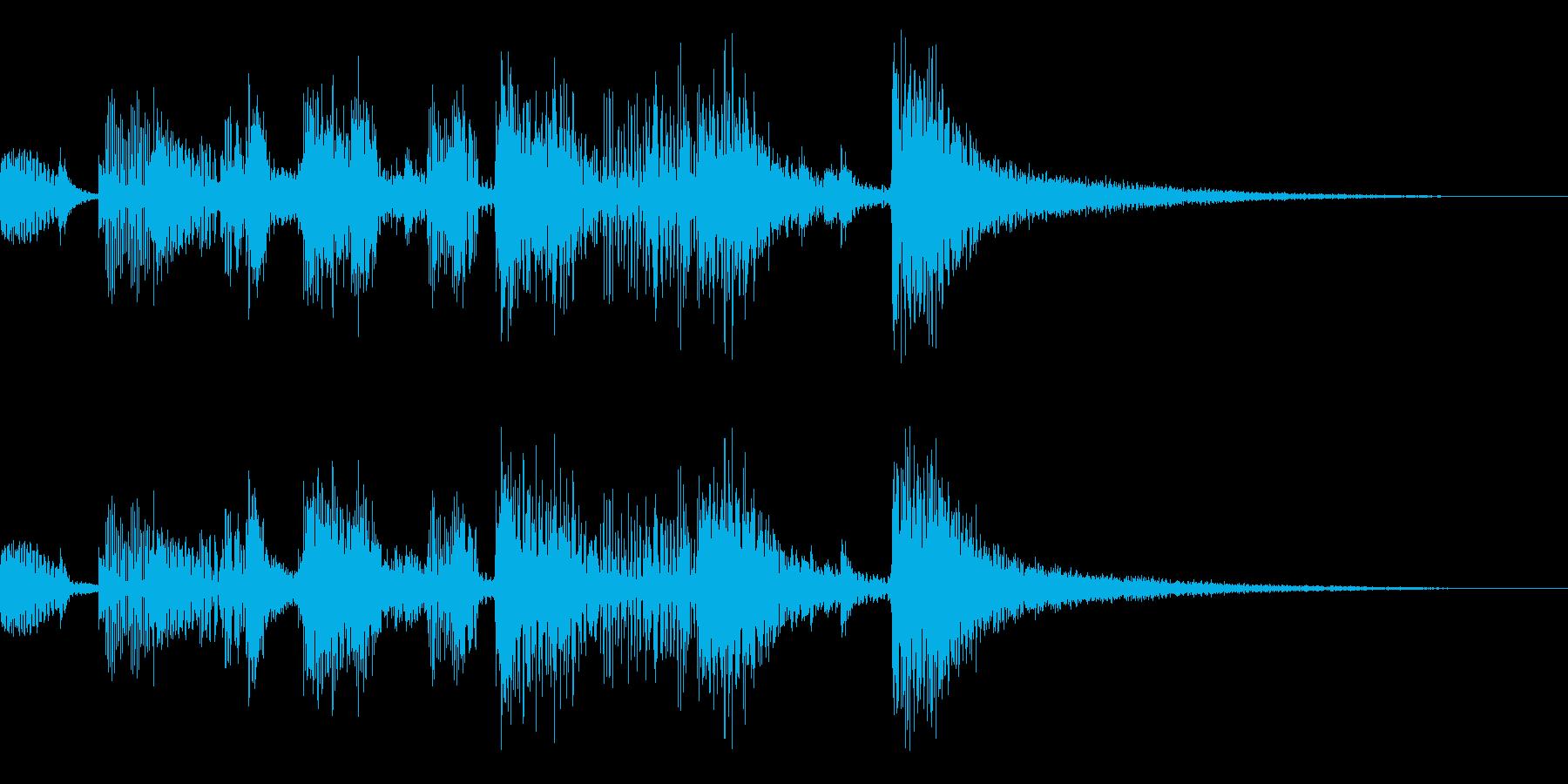 【ロゴ】計算機ボサノバ不思議【ジングル】の再生済みの波形