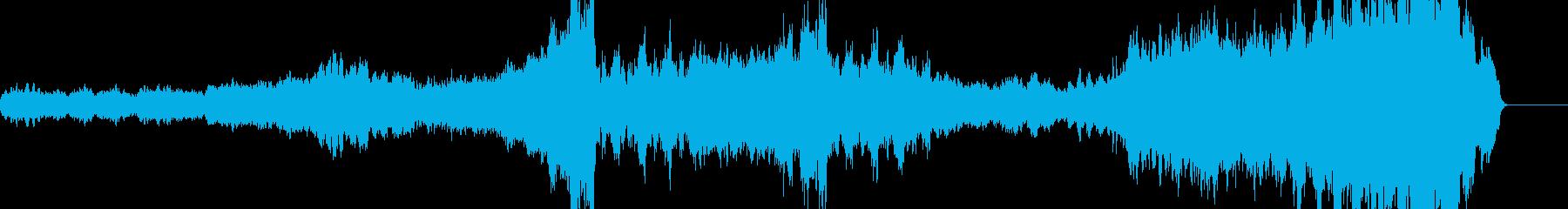 壮大な映画音楽 soundtrackの再生済みの波形
