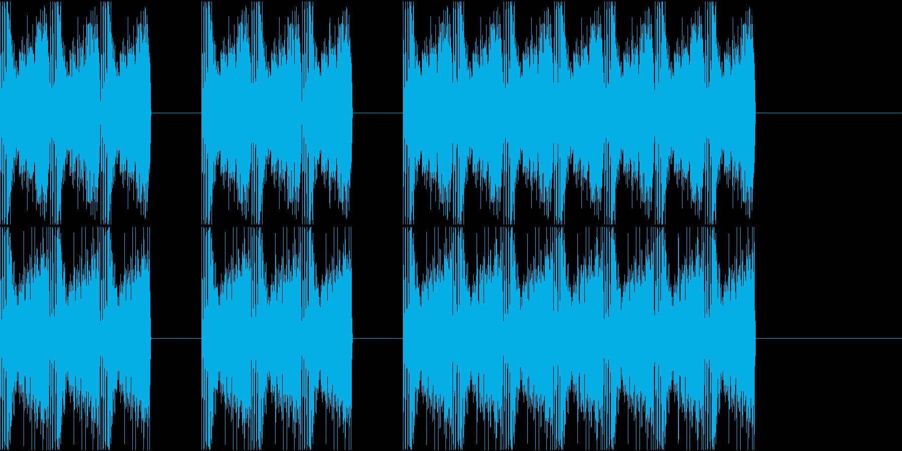 三三七拍子 その7の再生済みの波形