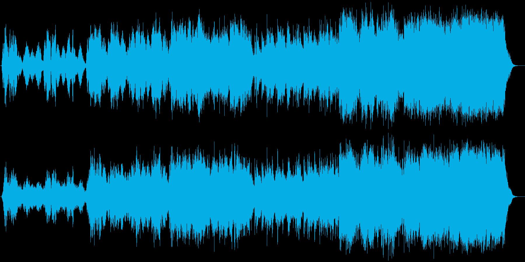 切なく哀しげなバイオリン・ピアノサウンドの再生済みの波形