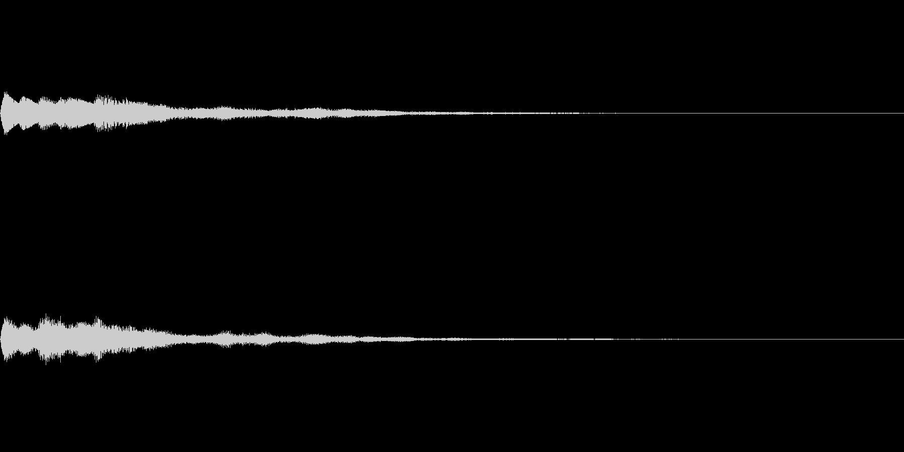 ベル SE03の未再生の波形