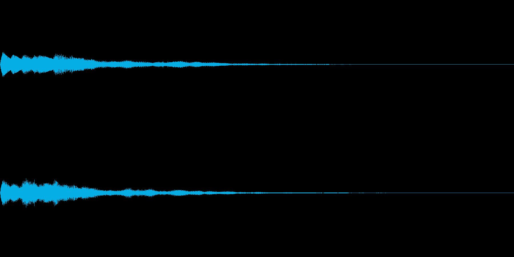 ベル SE03の再生済みの波形