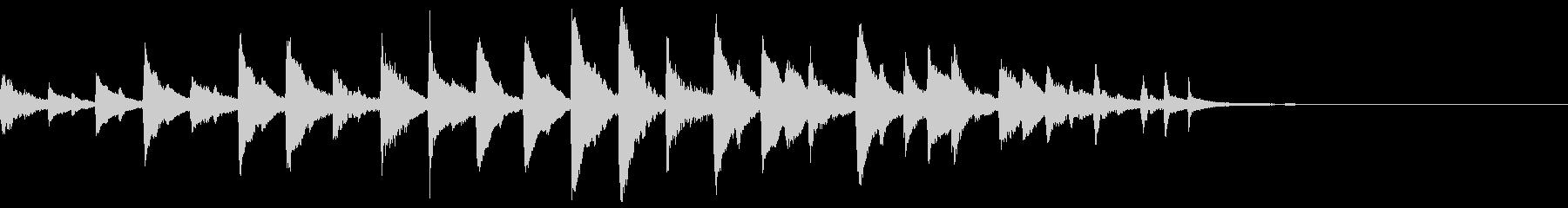 マリンバ類による~ラ・カンパネラ~の未再生の波形