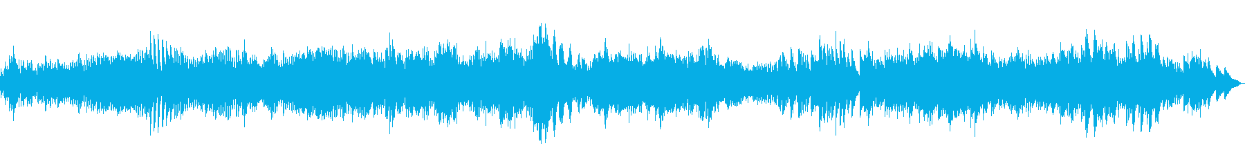 バロック音楽風のピアノ曲ですの再生済みの波形