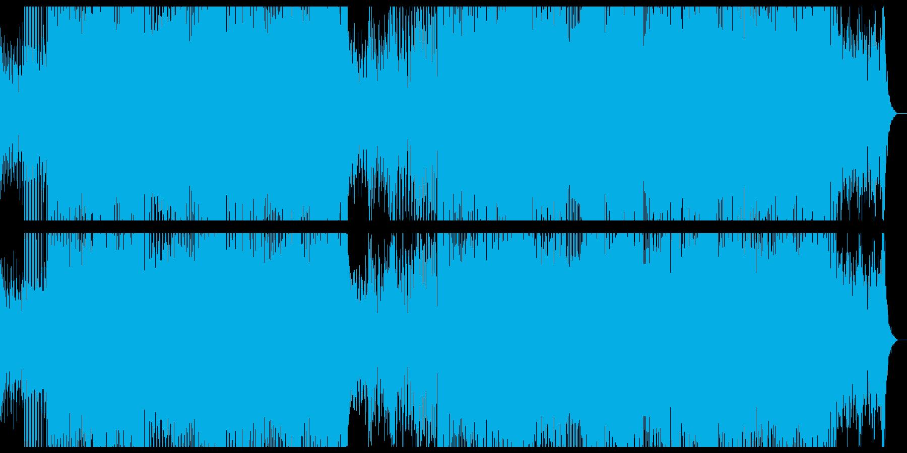 切なさと浮遊感の在るディープハウスの再生済みの波形