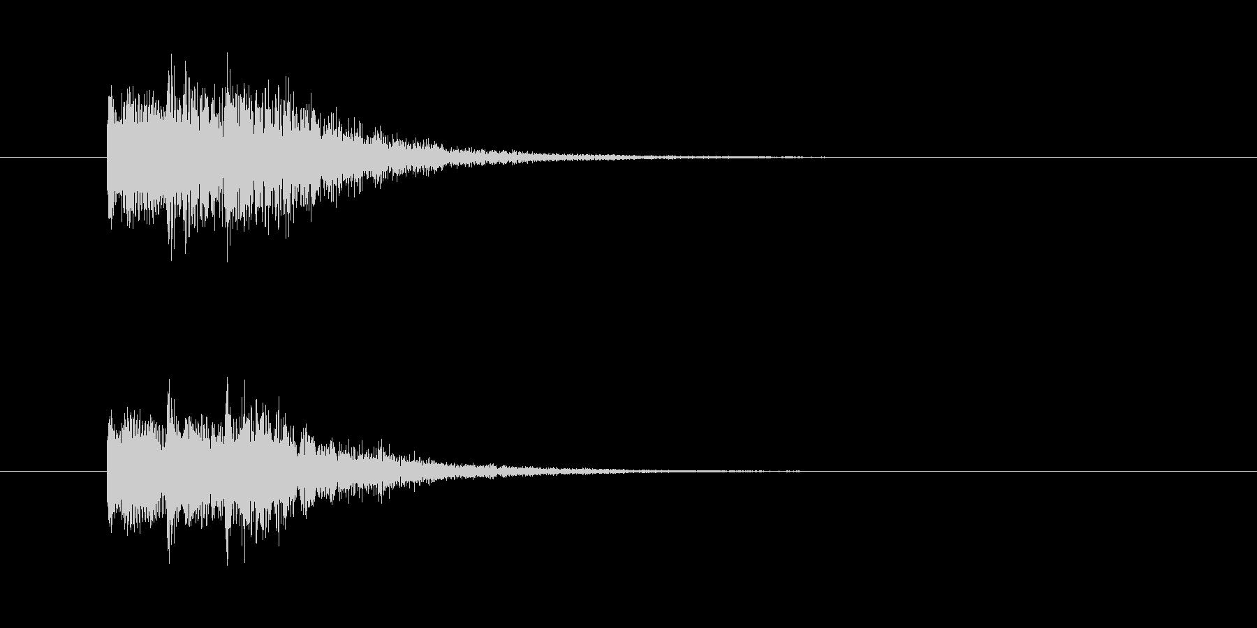 ジャララン。シンセジングル。の未再生の波形