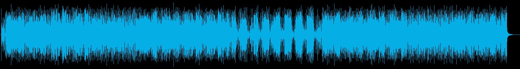 ユニークで愉快なポップミュージックの再生済みの波形