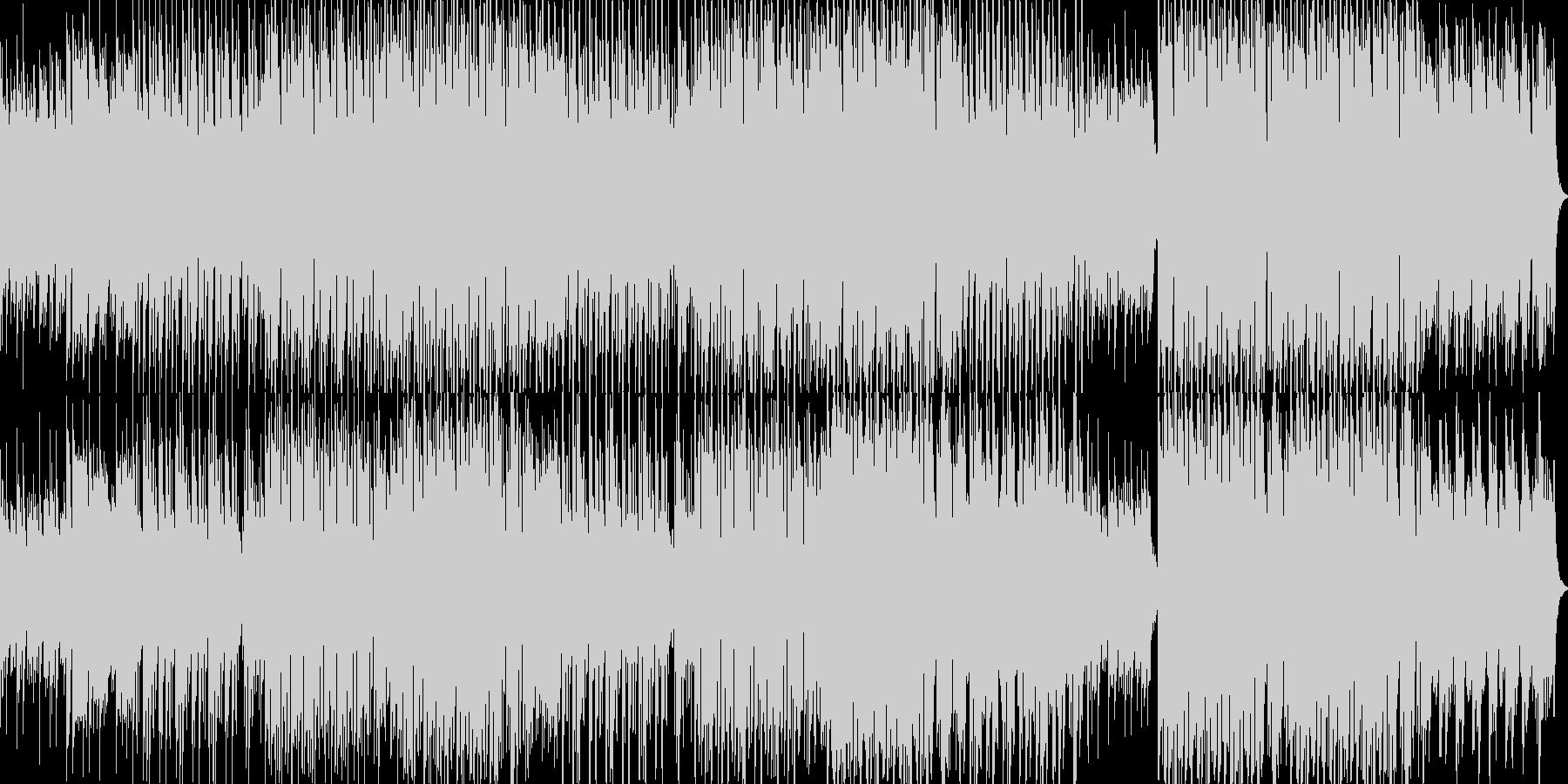 R&B風なPiano楽曲の未再生の波形