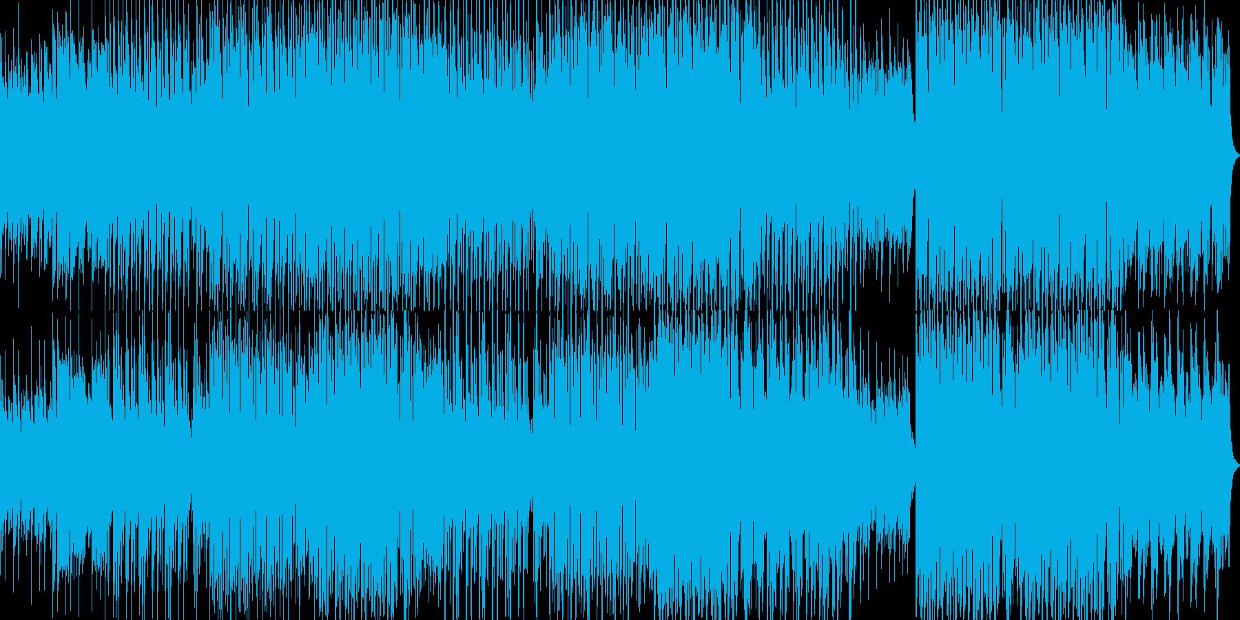 R&B風なPiano楽曲の再生済みの波形
