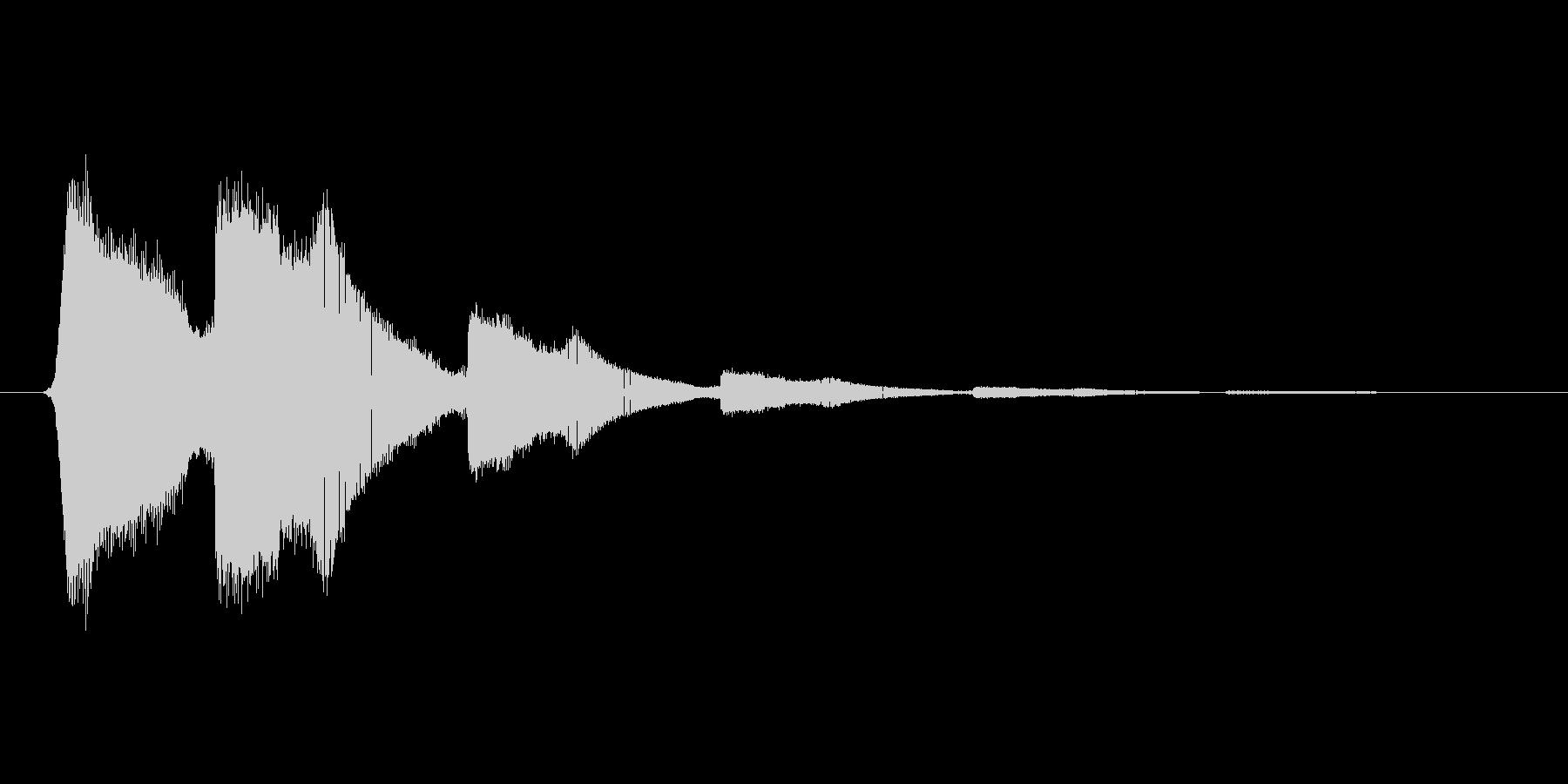 ファミコン風効果音 キャンセル系 03の未再生の波形