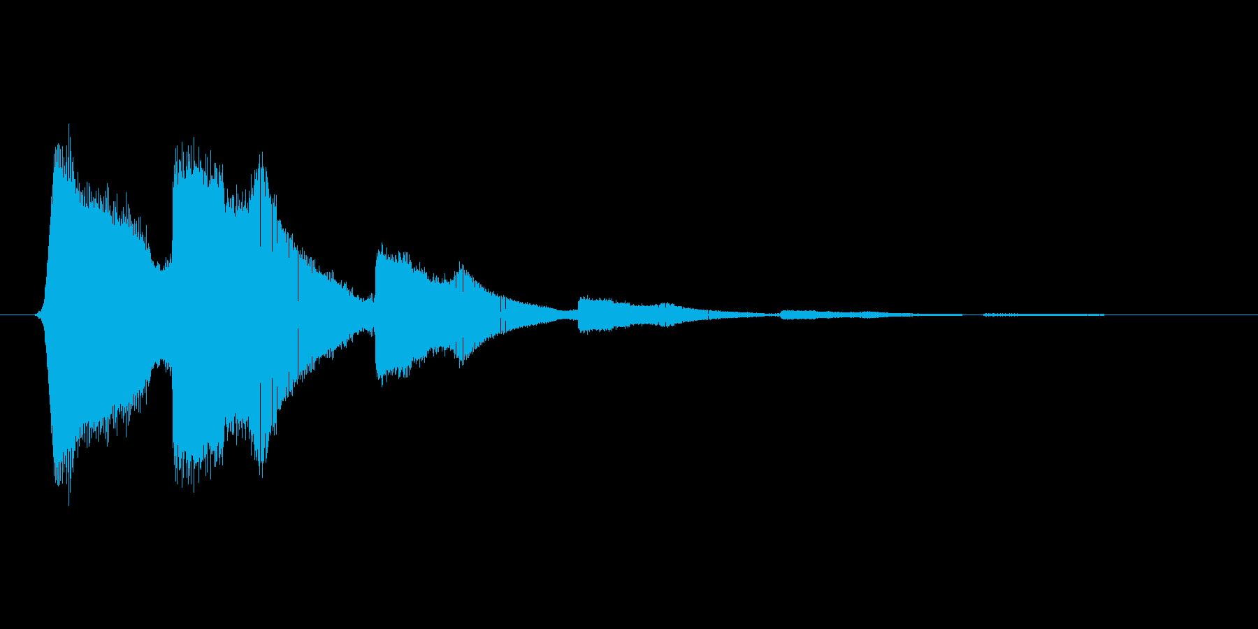 ファミコン風効果音 キャンセル系 03の再生済みの波形