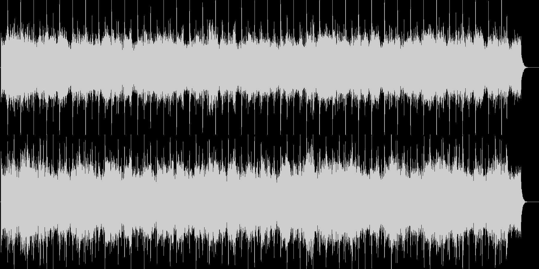 シンセボイス付きの荘厳な雰囲気のBGMの未再生の波形