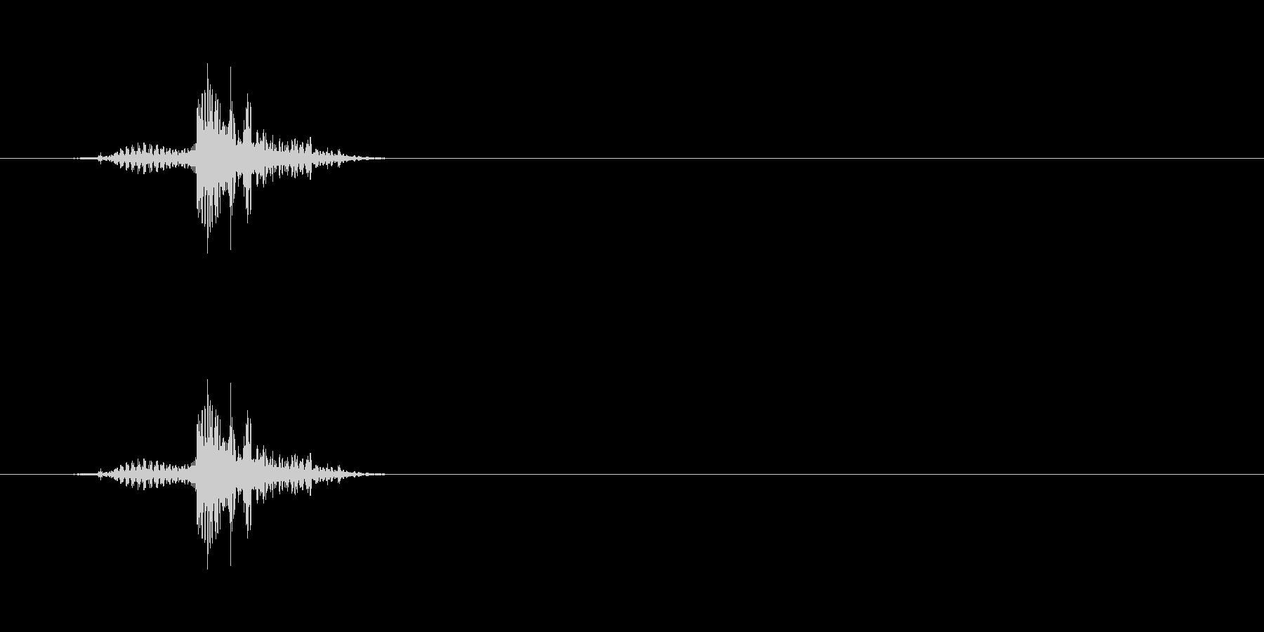 【ブーブークッション01-3】の未再生の波形