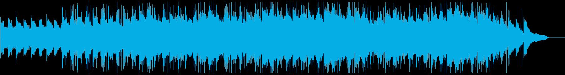 広がる自然・ゆったりヒップホップ・空撮の再生済みの波形