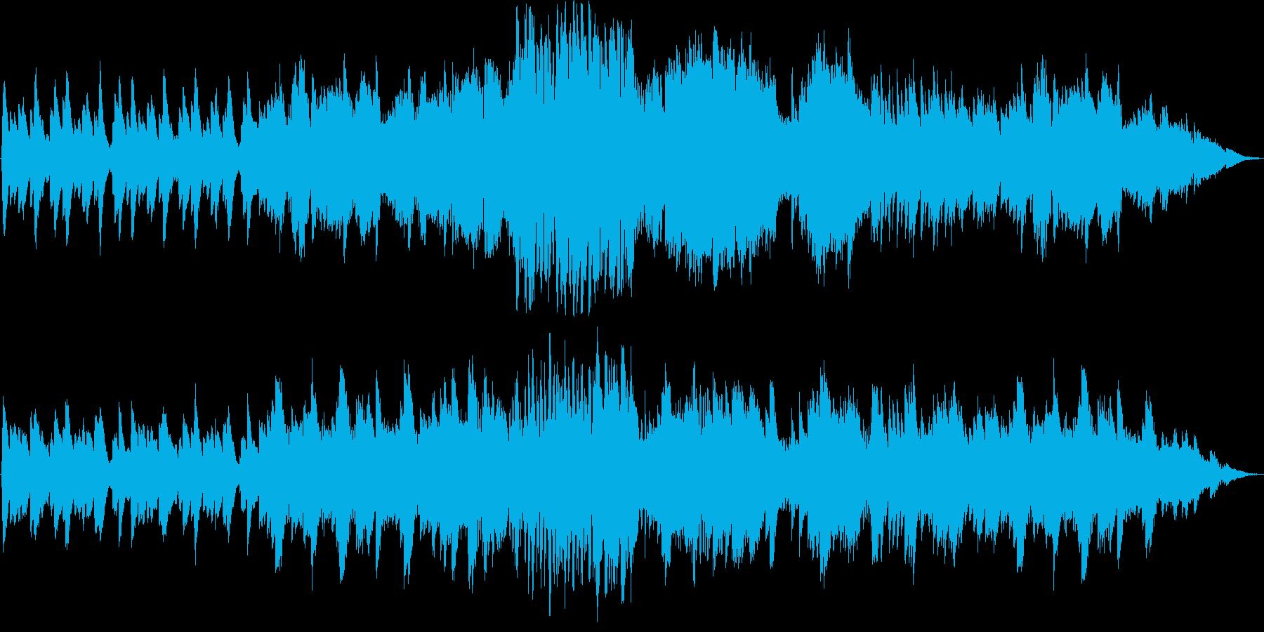 和やか・ノスタルジック・バイオリンの再生済みの波形