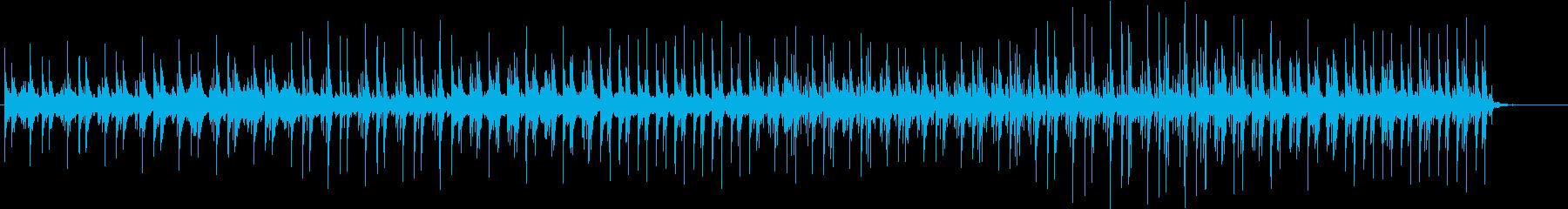 考え中、シンキングタイム用のBGMの再生済みの波形