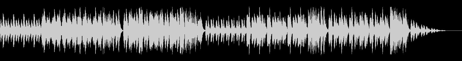 コメディチックなオーケストラの未再生の波形