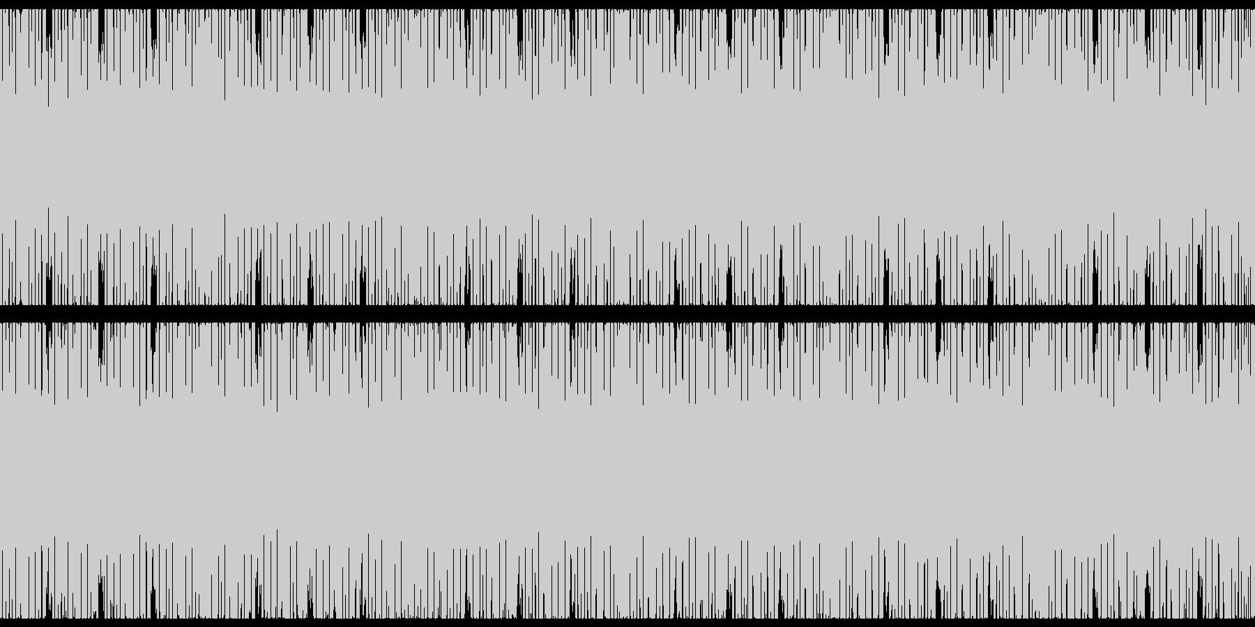 ピコピコキラキラテクノポップ-スローの未再生の波形