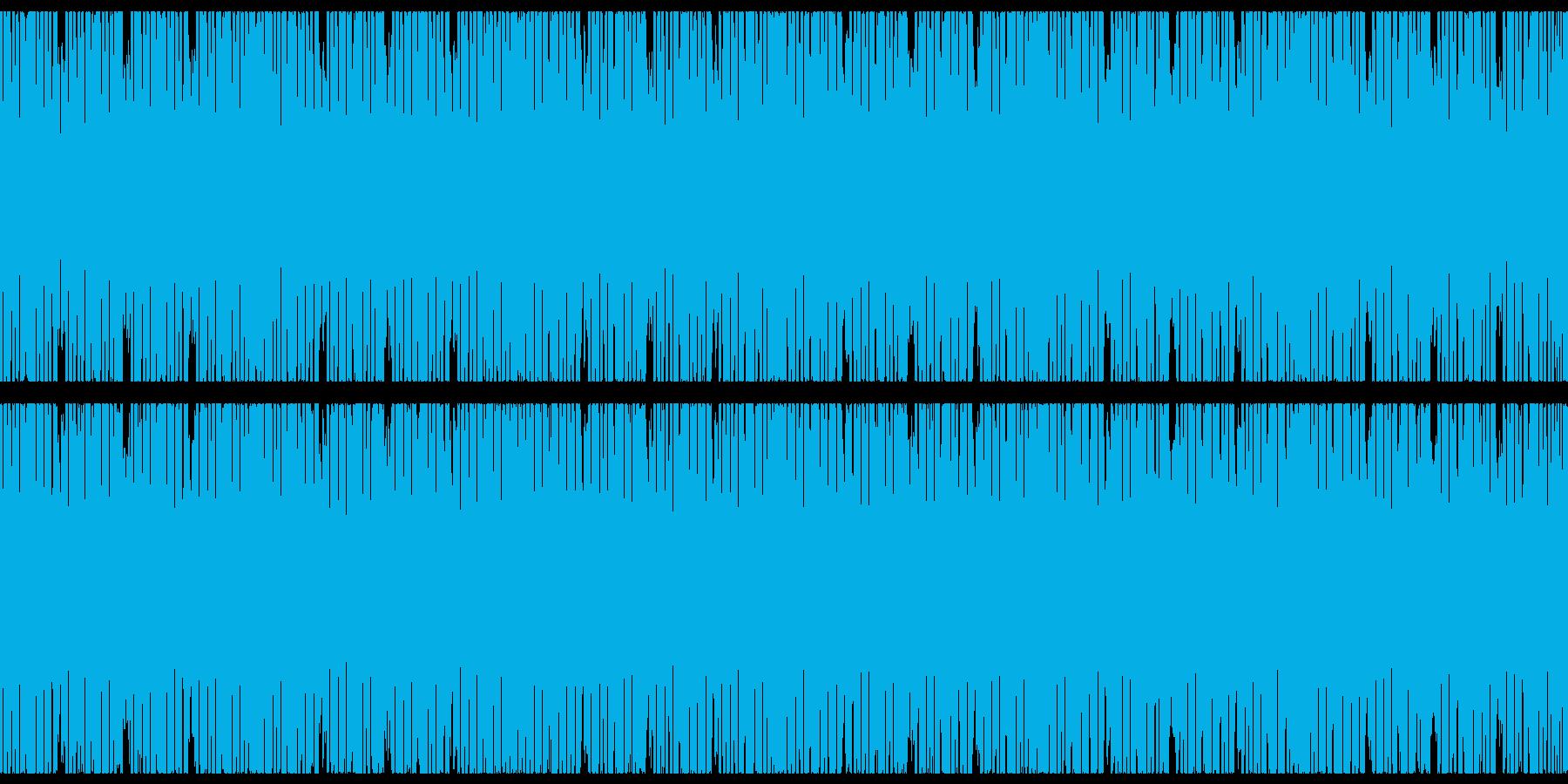 ピコピコキラキラテクノポップ-スローの再生済みの波形