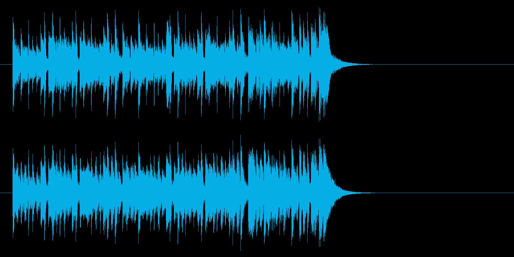 健やかなほのぼのポップ(イントロ)の再生済みの波形