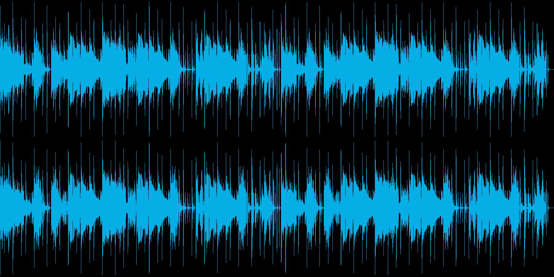 【オシャレでラグジュアリーなジャズ】の再生済みの波形