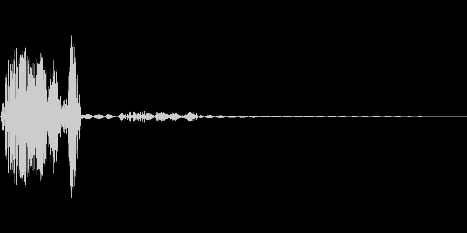 プヨプヨ(感情:怒る)の未再生の波形