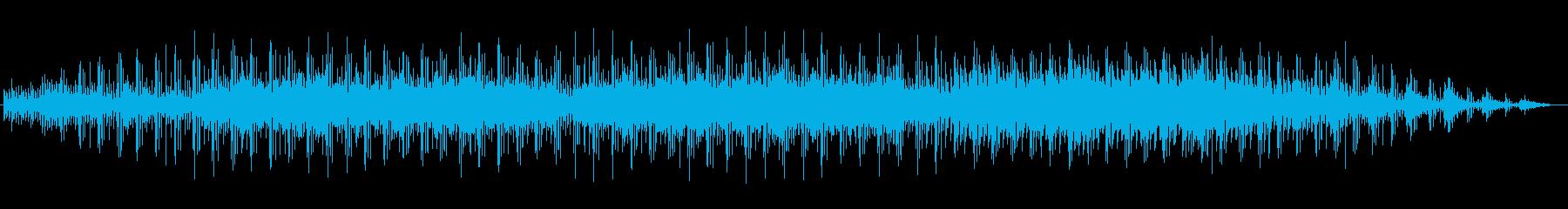 宇宙的広がりのあるマイナーイメージの再生済みの波形