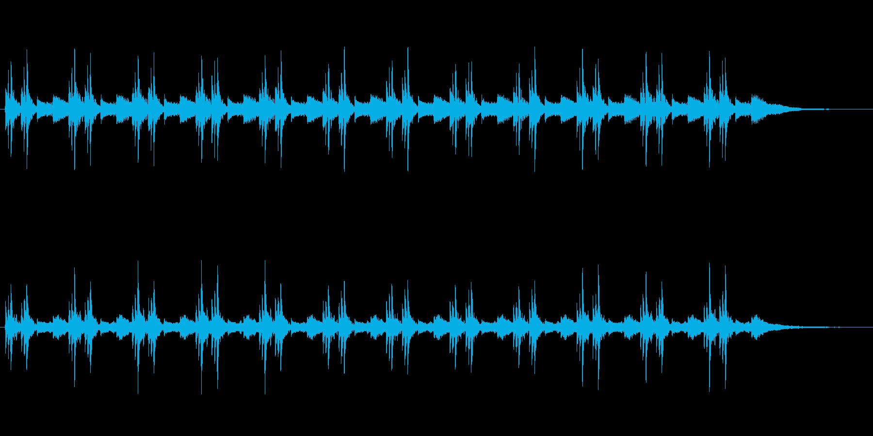 舞台転換ダークの再生済みの波形