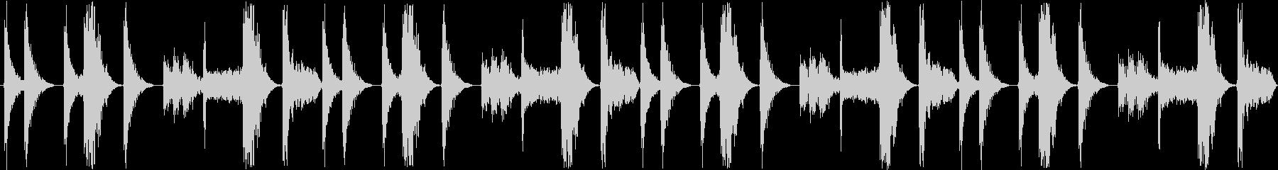 【シンキングタイム/ハウスドラムロール】の未再生の波形