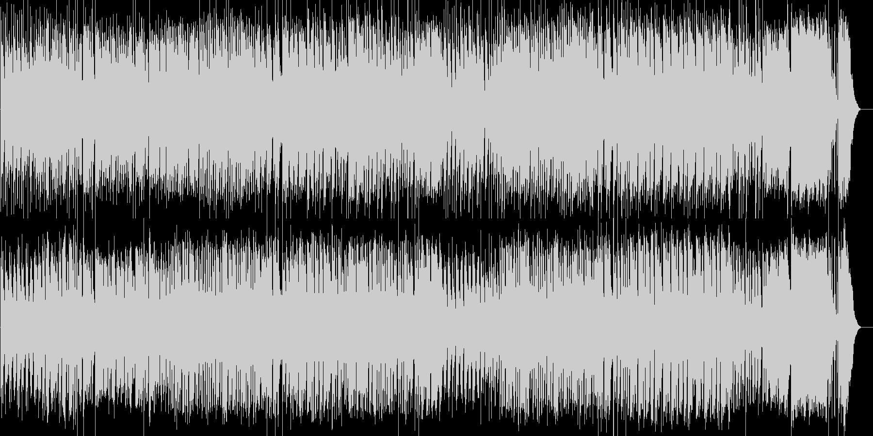 オールドディズニー スウィング ジャズの未再生の波形