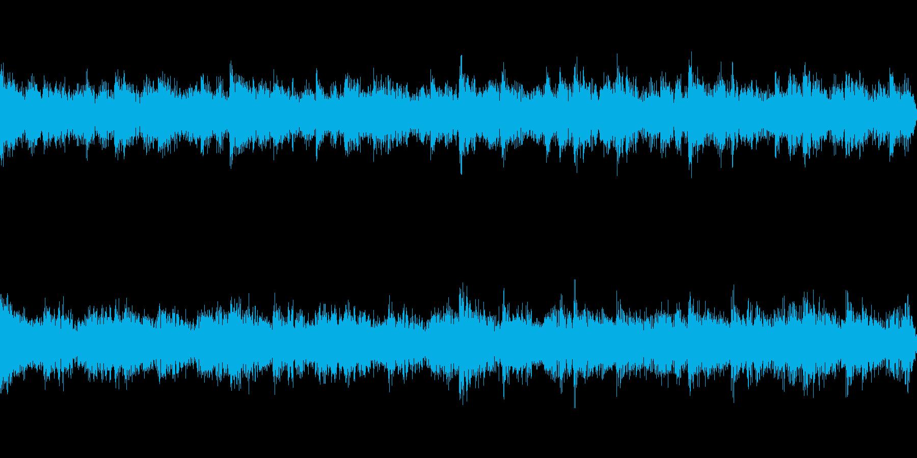 不気味なBGM【ループ仕様】の再生済みの波形