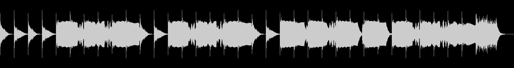 第一葬送曲の未再生の波形