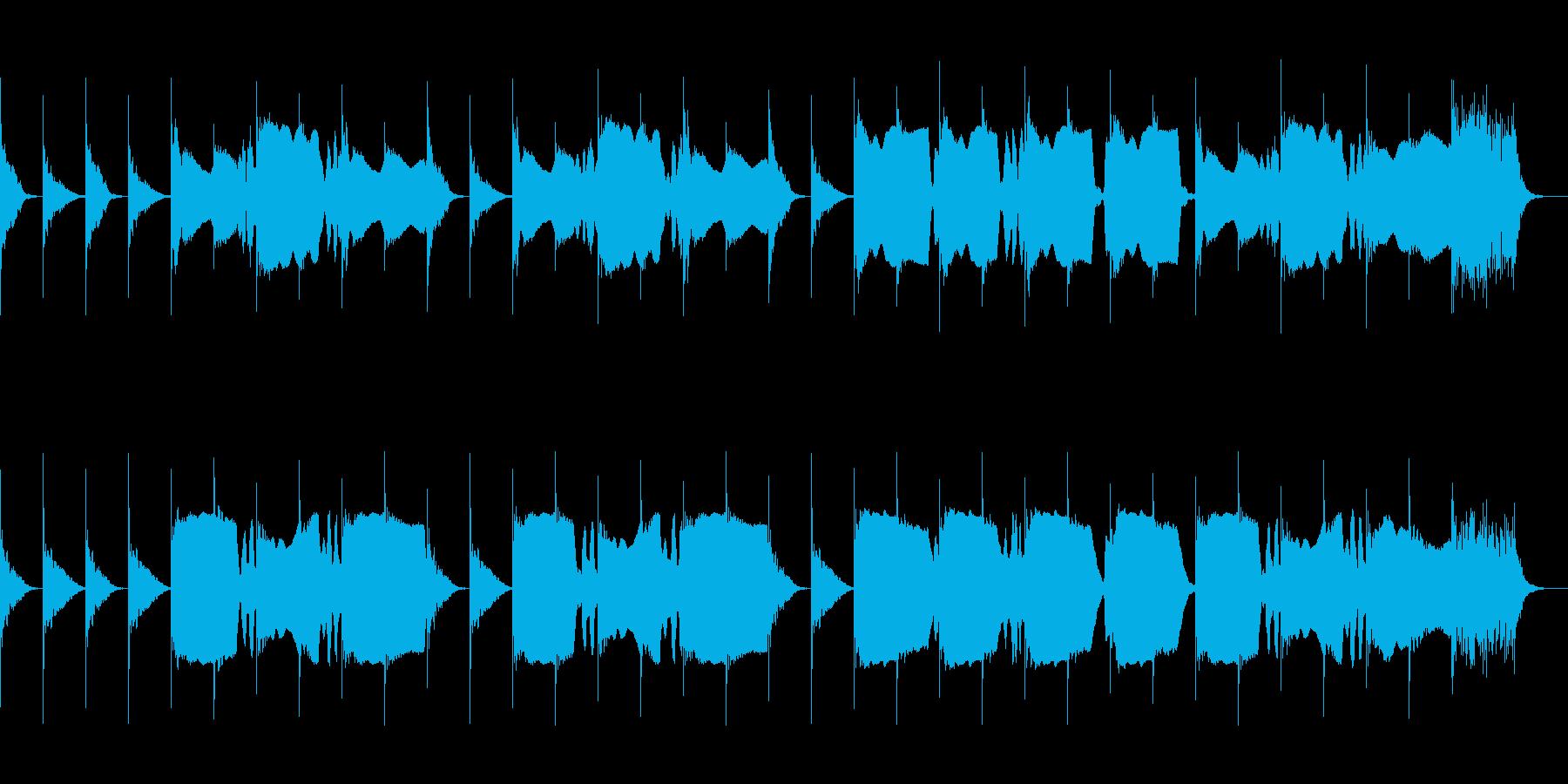 第一葬送曲の再生済みの波形